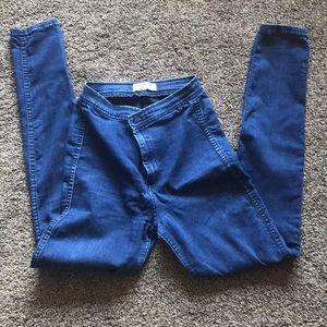 American apparel indigo easy jeans
